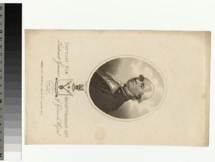 Portrait of Capt Sir R. Pearson