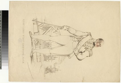 Portrait of Admiral VisCount Exmouth