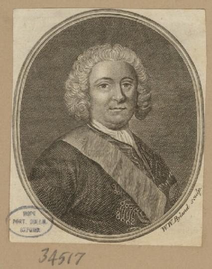 Portrait of Admiral Pocock
