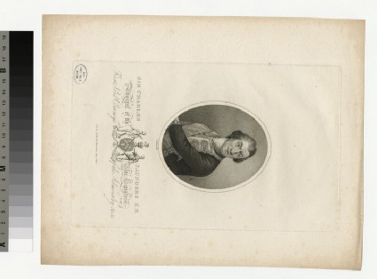 Portrait of Admiral Sir C. Saunders