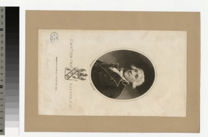 Portrait of Capt.Sir C. Saxton