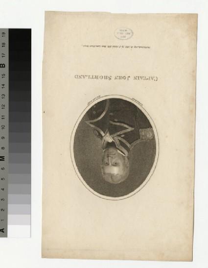 Portrait of Capt.J. Shortland