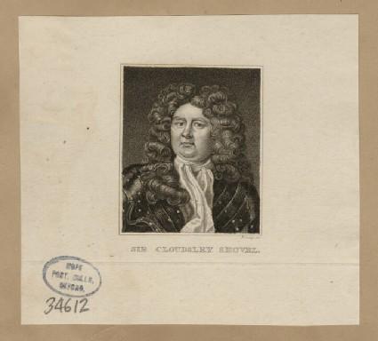Portrait of Sir C. Shovell