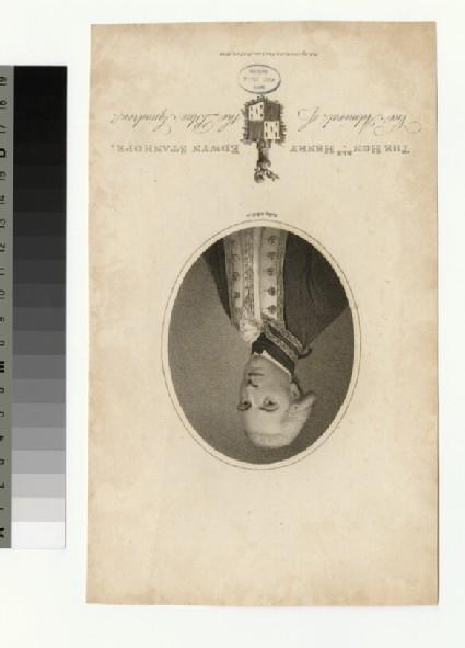 Portrait of Admiral H. E. Stanhope