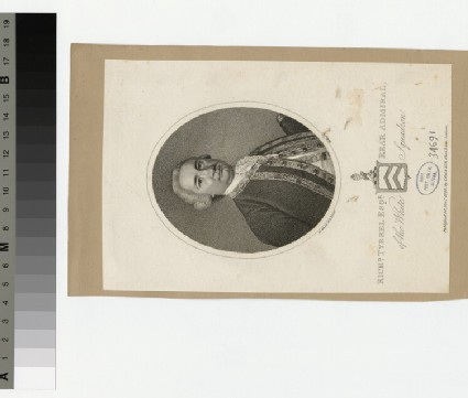 Portrait of Capt.R. Tyrrell