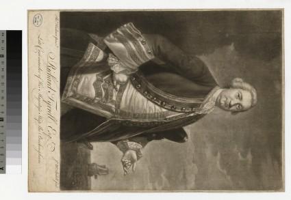 Portrait of Admiral R. Tyrrell