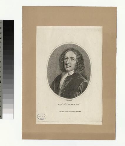 Portrait of Admiral Vernon