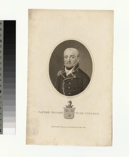 Portrait of Capt.R. B. Vincent
