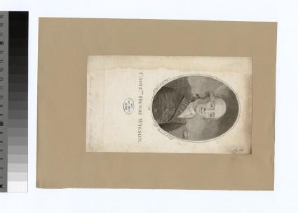 Portrait of Capt. H. Wilson