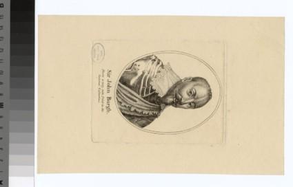 Portrait of Sir J. Burgh