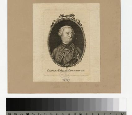 Portrait of Duke of Marlborough