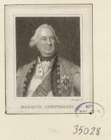 Portrait of Marquis Cornwallis