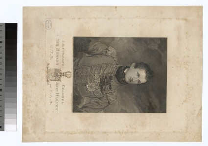 Portrait of Lt Col.Sir R. J. Harvey