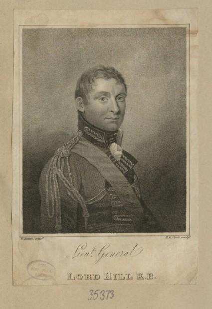 Portrait of Lt Gen. Lord Hill