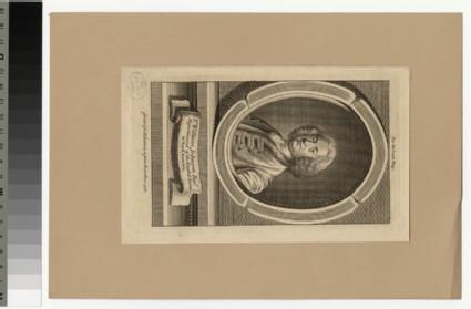 Portrait of Sir W. Johnson