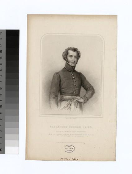 Portrait of Maj.A. G. Laing