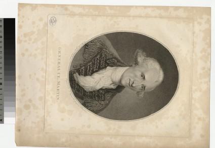 Portrait of Gen. Cl Martin