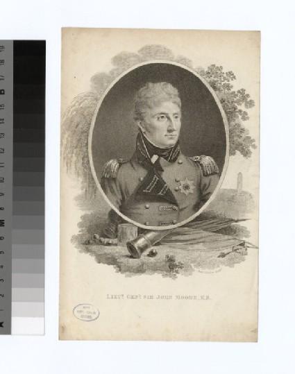 Portrait of Lt.Gen.Sir J. Moore