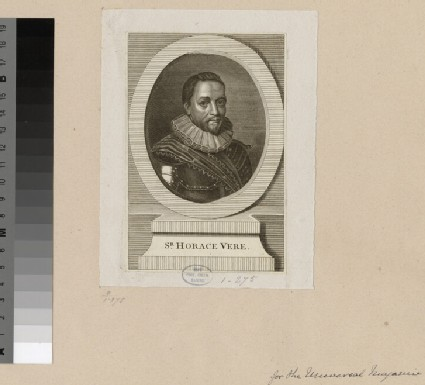 Portrait of Sir H. Vere