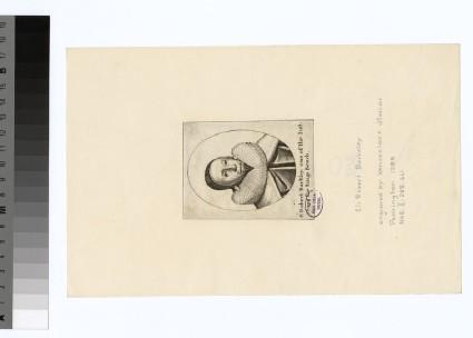 Portrait of Sir R. Barclay