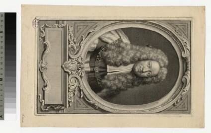 Portrait of Sir J. Comyns