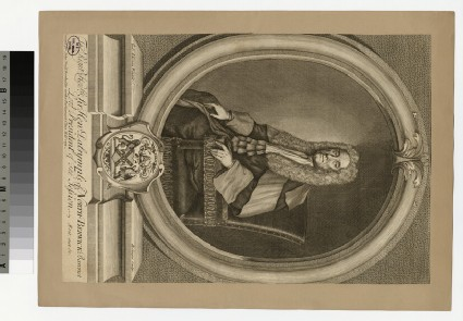 Portrait of Sir H. Dalrymple