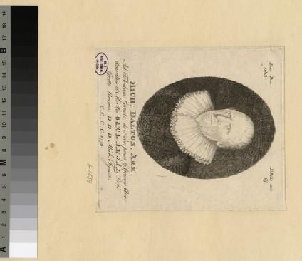 Portrait of M. Dalton