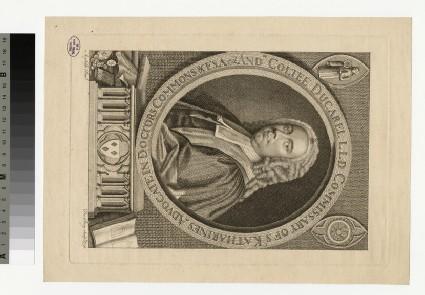 Portrait of C. Ducarel