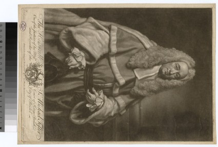 Portrait of Sir M. Foster
