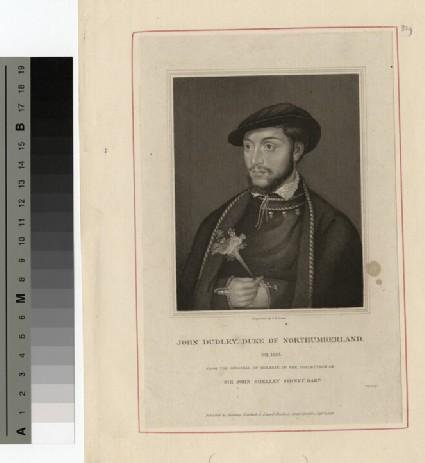 Portrait of John Dudley, Duke of Normandy