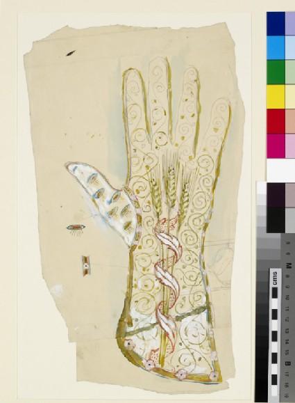 Design for an ecclesiastical glove