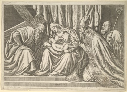 Virgin and Child with Saints Andrew and Titian
