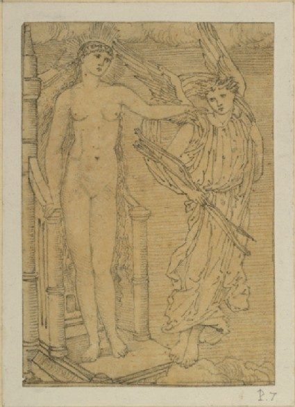 The Story of Cupid and Psyche: Venus sending Cupid to Psyche