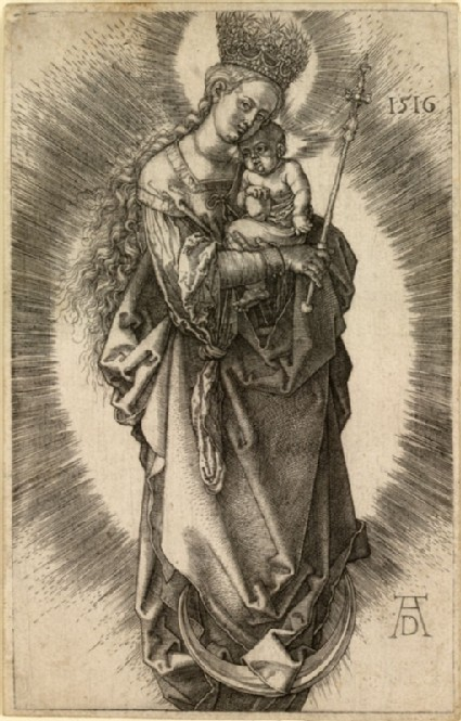 The Virgin with a Sceptre and Crown of Stars