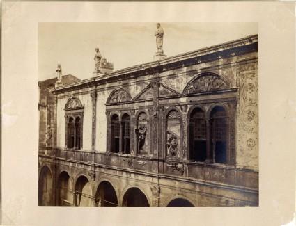 Photograph of the Upper Storey of the Loggia del Consiglio, Verona