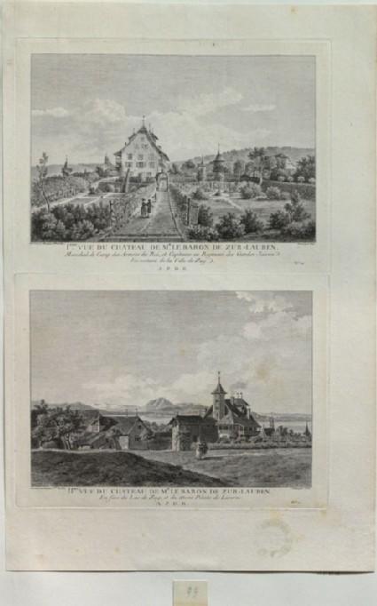 The Castle of the Baron of Zurlauben