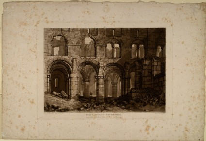 Holy Island Cathedral (from the Liber Studiorum)