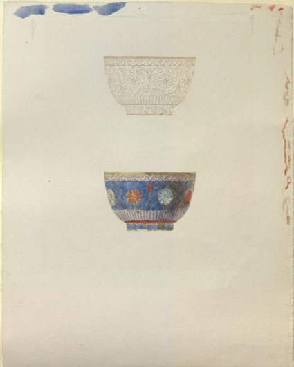 A Study of a Japanese enamelled Cup