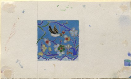 Study, for Colour, of a piece of Chinese Enamel