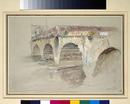 The Ponte della Pietra, Verona
