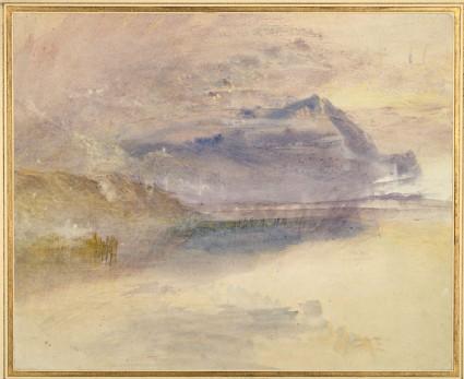 Evening: Cloud on Mount Rigi, seen from Zug