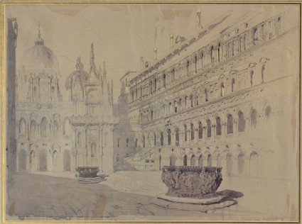 The Court of the Ducal Palace, Venice