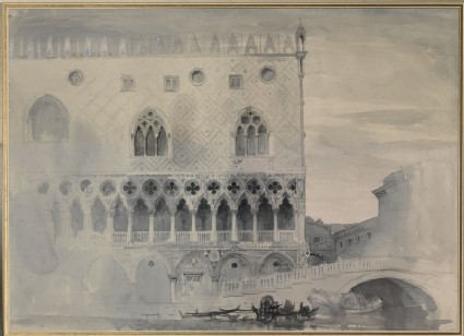 The Exterior of the Ducal Palace, Venice