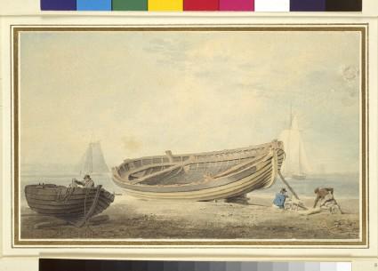 Boats on a Beach