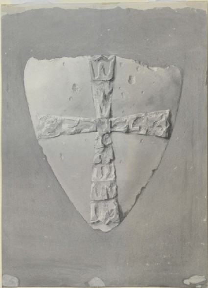 Study of the Form of a Shield, from the north Aisle of Westminster Abbey