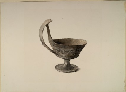 Study of an Etruscan Cup