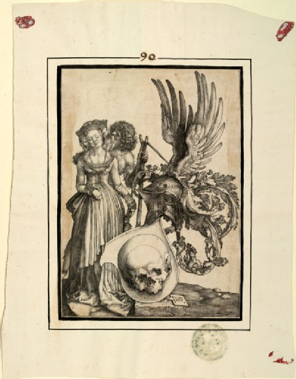 Coat of Arms with a skull