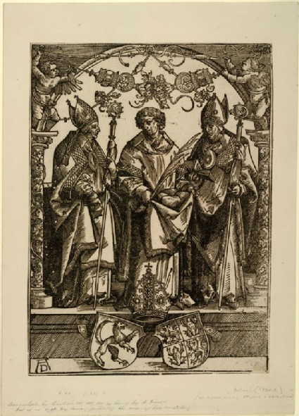 Saints Maximilian, Stephen and Valentine