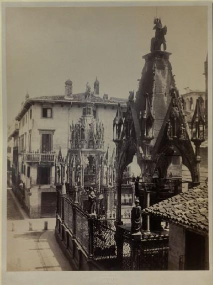 Photograph of the Tombs of Mastino II della Scala and Cansignorio della Scala, Verona