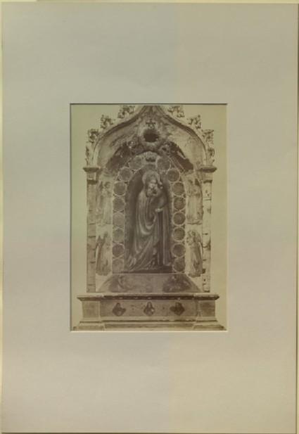 Photograph of Fra Angelico's 'Madonna della Stella'